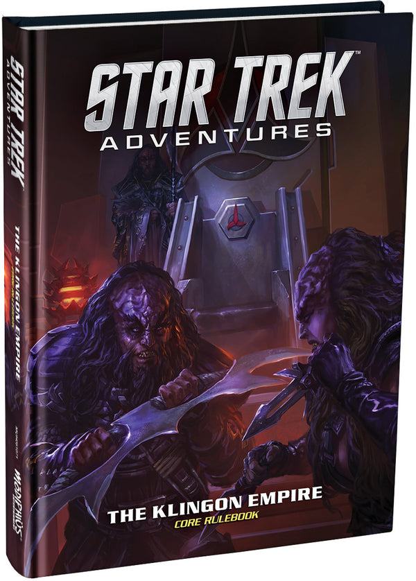 The Klingon Empire Core Rulebook Standard Edition - Star Trek Adventures