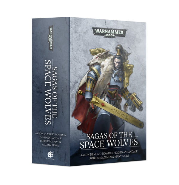Sagas Of The Space Wolves (Sb) - Black Library Warhammer 40k