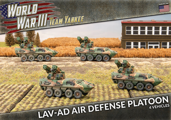 LAV-AD Air Defense Platoon - Team Yankee Americans