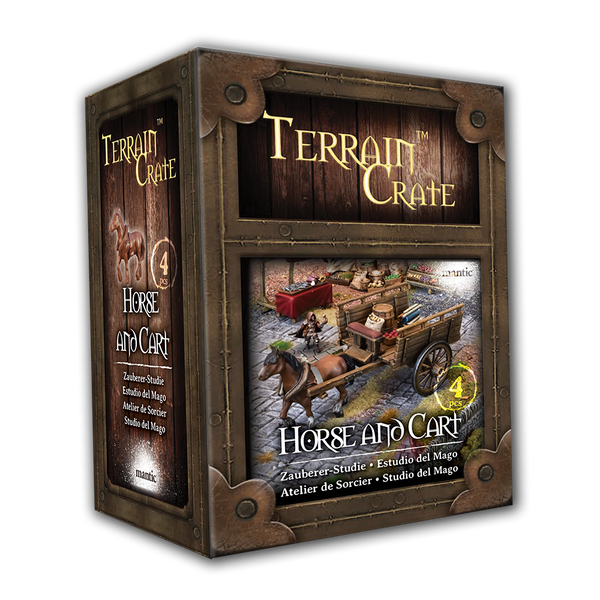 Horse and Cart - Terrain Crate