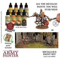 Metallics Paint Set - Warpaints 2