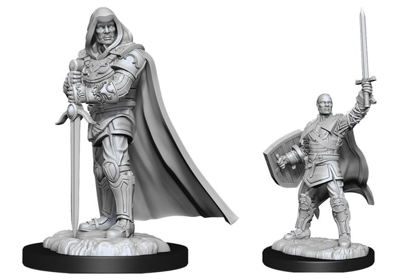 Human Paladin Male (Wave 13) - Nolzurs Marvelous Miniatures