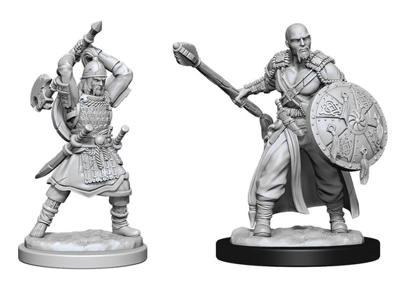 Human Barbarian Male (Wave 13) - Nolzurs Marvelous Miniatures