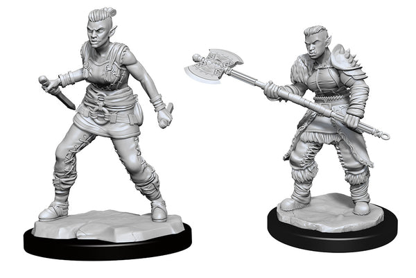 Orc Barbarian Female (Wave 13) - Nolzurs Marvelous Miniatures