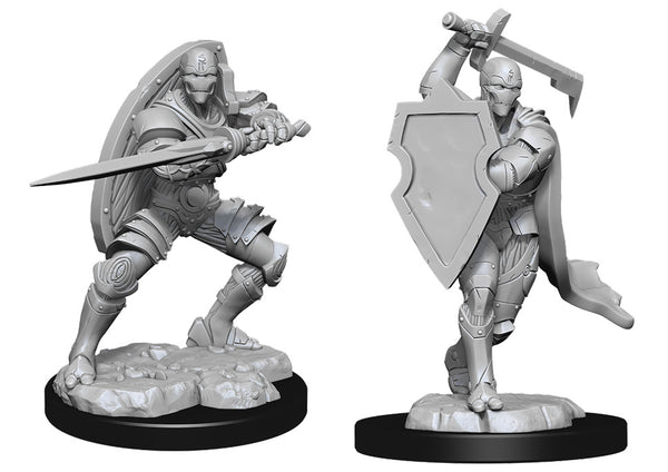 Warforged Fighter Male (Wave 13) - Nolzurs Marvelous Miniatures