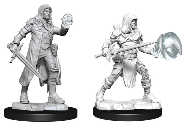Multiclass Fighter+Wizard Male (Wave 13) - Nolzurs Marvelous Miniatures