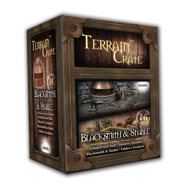 Blacksmith & Stable - Terrain Crate