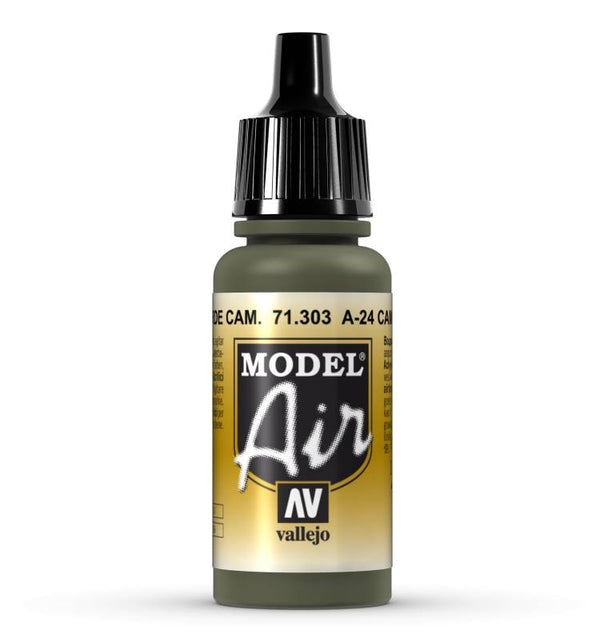 A-24M Camouflage Green 17ml - Model Air