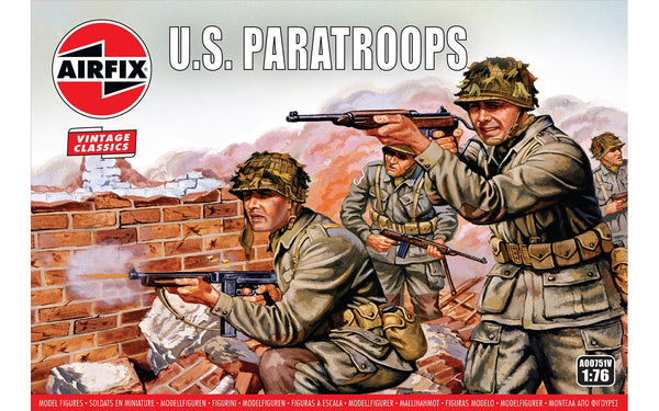 WWII US Paratroops Airfix Vintage Classics Kit