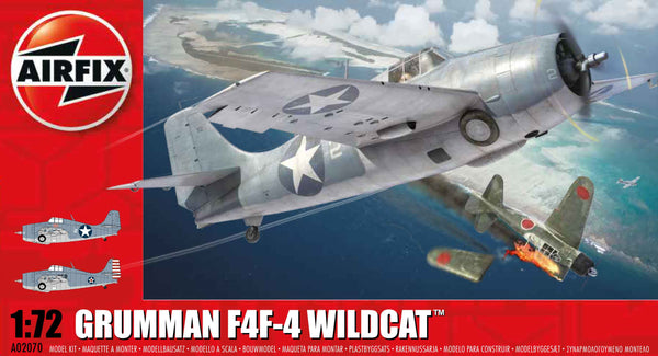 Grumman F4F-4 Wildcat 1:72 Scale Kit