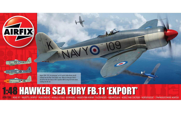 Hawker Sea Fury FB.11 'Export' 1:48 Scale Kit