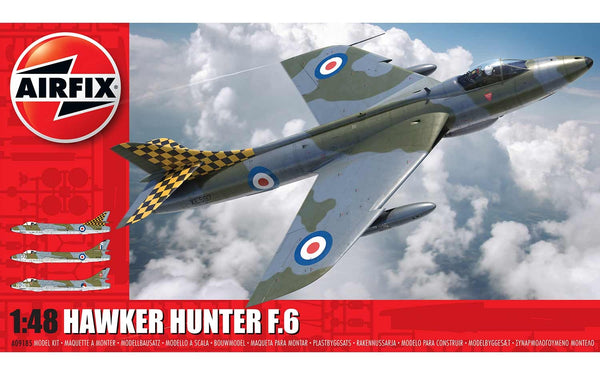 Hawker Hunter F.6 1:48 Scale Kit