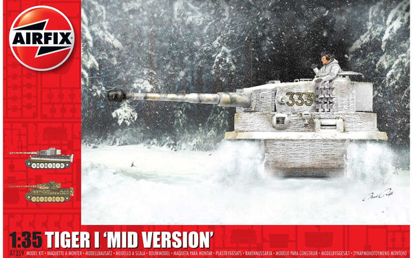 Tiger-1 Mid Version 1:35 Scale Kit
