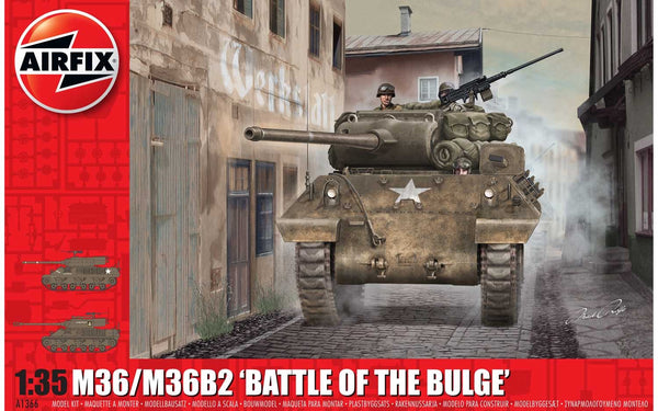 "M36/M36B2 ""Battle of the Bulge"" 1:35 Scale Kit"