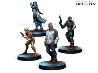 Infinity Agents of the Human Sphere RPG Characters Set - NA2 1