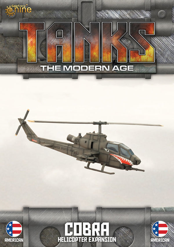 Modern Age: Us Ah-1 Cobra Helicopter Expansion