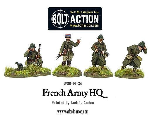 French Command - Bolt Action