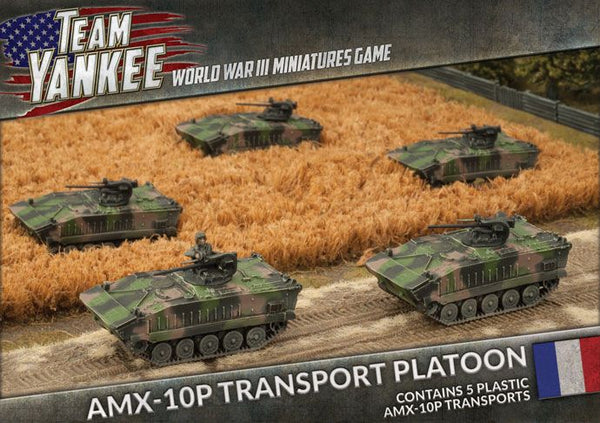 NATO French AMX-10P Platoon