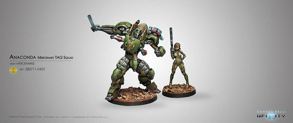 Mercenaries Anaconda, Mercenary TAG Squadron Box Set