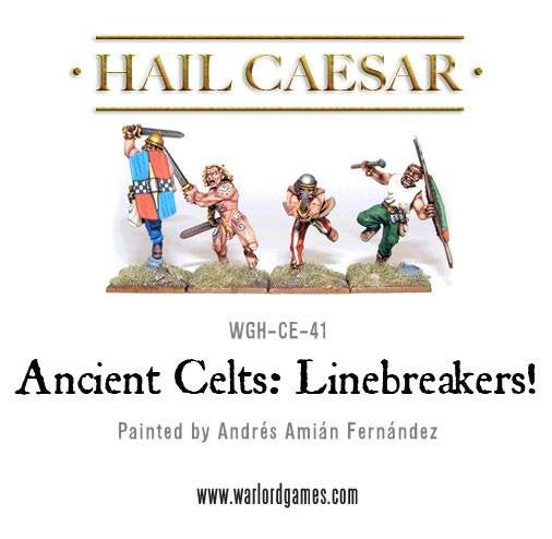 Enemies Of Rome Ancient Celtic Linebreakers Pack