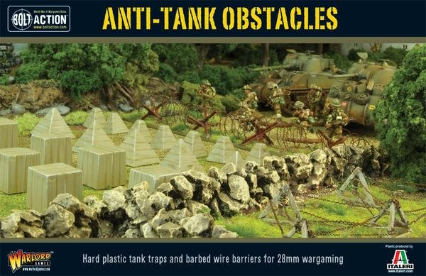 Anti-Tank Obstacles Scenery set