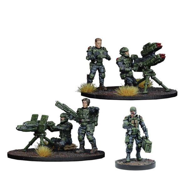 Warpath / Deadzone: GCPS Anti-Tank Weapons Teams Box Set