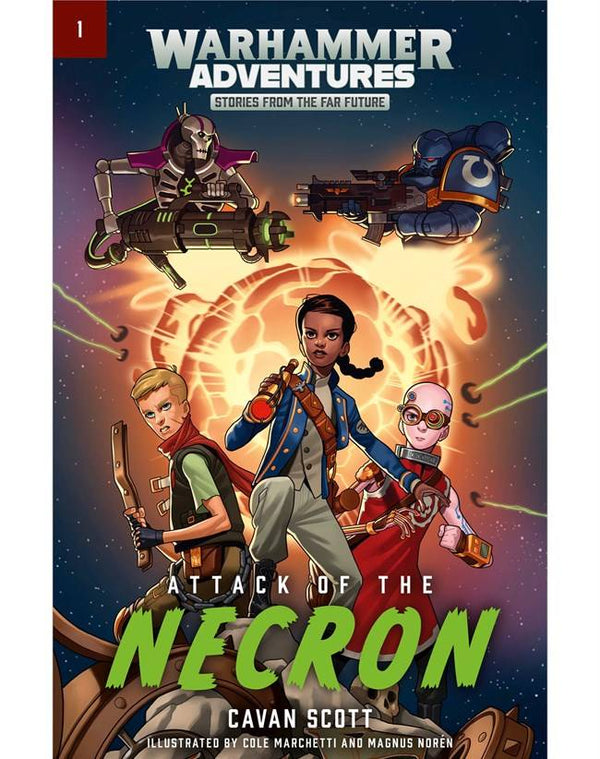 Warped Galaxies: Attack Of The Necron (SB)