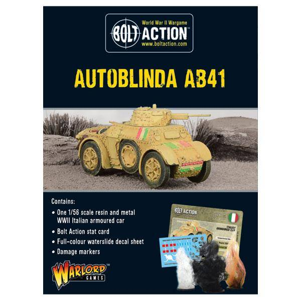 Autoblinda AB41 Armoured Car - Italian Army
