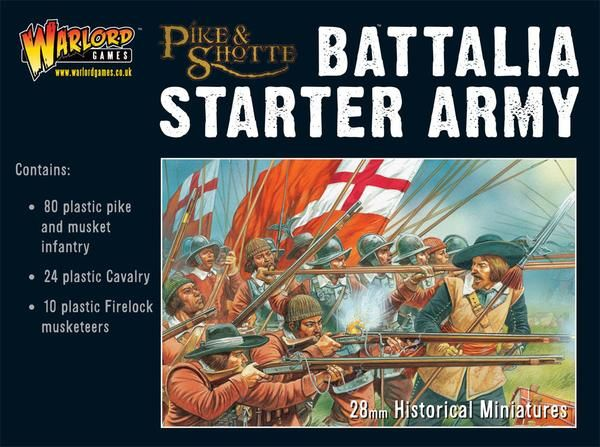 30 Years War 1618-1648 Battalia Starter Army Box Set