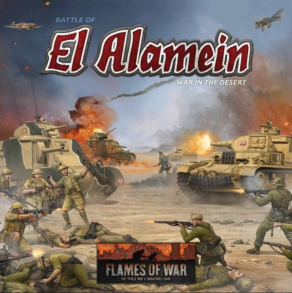 Flames Of War El Alamein Starter Set