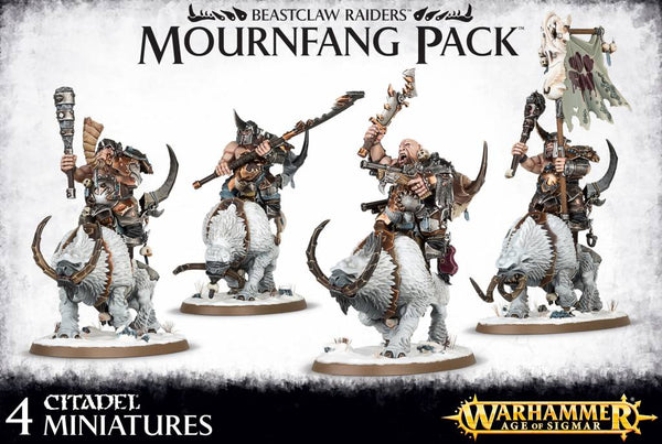 Mournfang Pack - Ogre Mawtribes