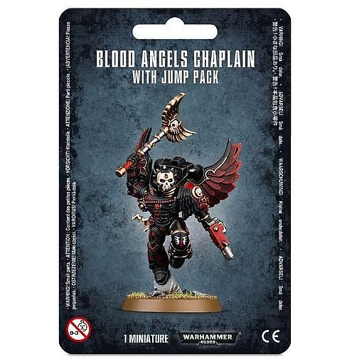 Chaplain With Jump Pack - Blood Angels
