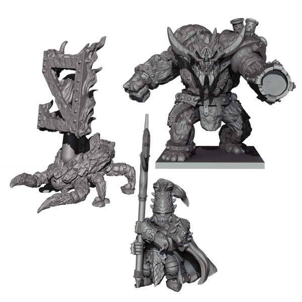 Abyssal Dwarf Warband Booster - Kings Of War Vanguard