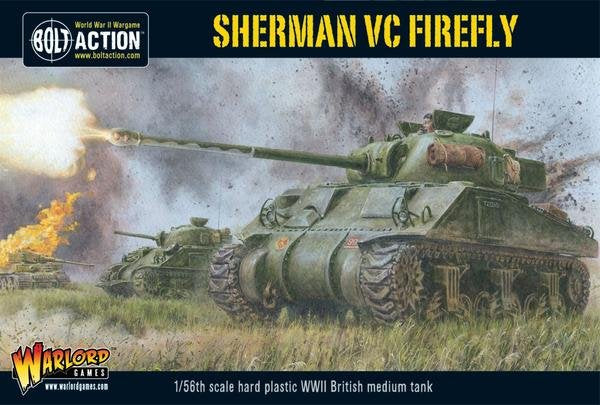 British Sherman Firefly Vc Medium Tank