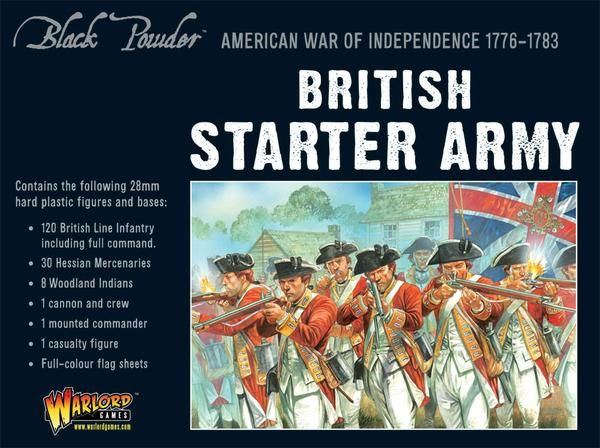 British Army Starter Set (American War Of Independence) Box Set