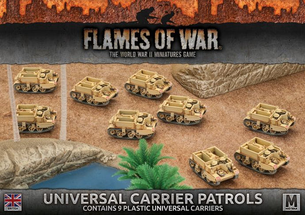 British: Universal Carrier Patrols