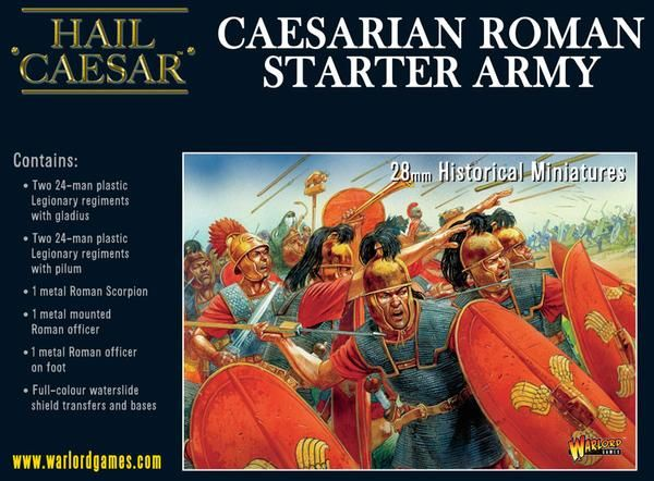Caesarian Romans Starter Army Box Set