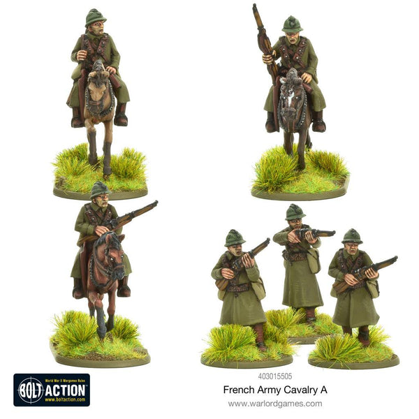 French Army Cavalry Unit A