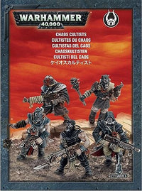 Push-Fit Chaos Cultists - Chaos Space Marines 1