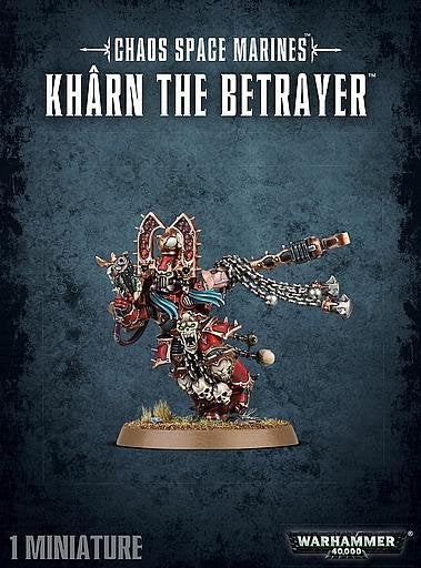 Heretic Astartes Kharn The Betrayer