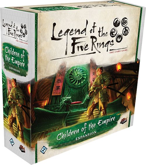 Legend Of The Five Rings: Children Of The Empire Premium Expansion