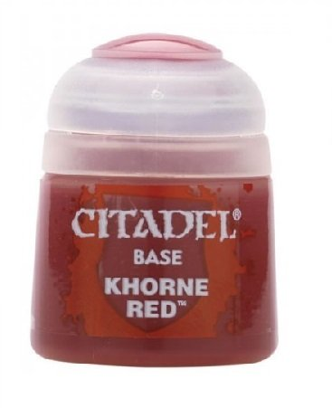 Base: Khorne Red 12ml