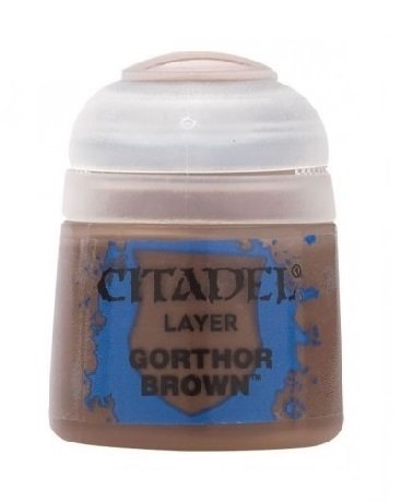 Gorthor Brown 12ml Citadel Layer - Acrylic Paint