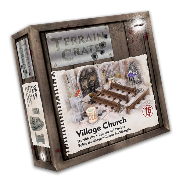 TerrainCrate: Village Church - Historical Scenery