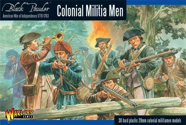 Colonial Militia Men (American War Of Independence) Box Set