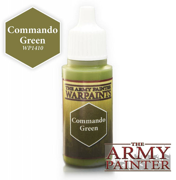 Warpaint - Commando Green - 18ml