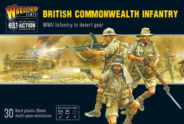 British Commonwealth Infantry (In Desert Gear)