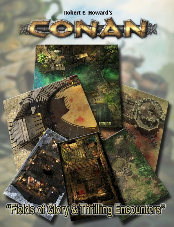 Conan: Fields of Glory & Thrilling Encounters Tile Set