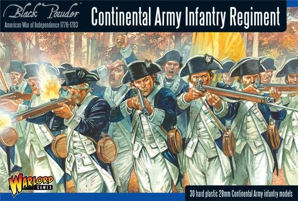 Continental Infantry Regiment (American War Of Independence) Box Set