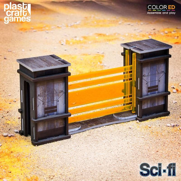 28-32mm Scale Sci-fi Scenery - Continuum Security Gates